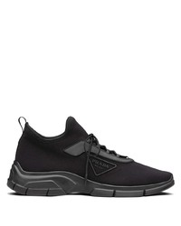 Prada Lace Up Low Sneakers