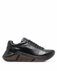 Giorgio Armani Lace Up Low Top Sneakers