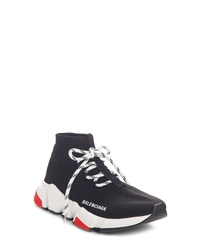 Balenciaga Mid Speed Lace Up Sneaker