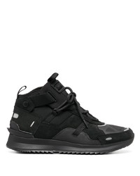 Lacoste Multi Panel Mid Top Sneakers
