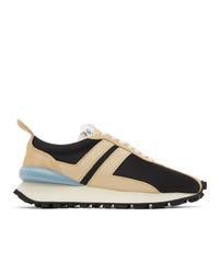 Lanvin Multicolor Mesh Bumpr Sneakers