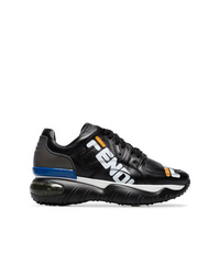 Fendi Multicoloured Fila Mania New Age Leather Sneakers