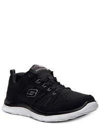 Skechers Flex Appeal Spring Fever Memory Foam Running Sneakers From Finish Line