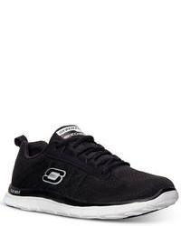 Skechers Flex Appeal Sweet Spot Memory Foam Running Sneakers From Finish Line
