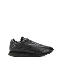 Santoni Slip On Sneakers