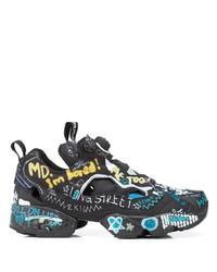 Vetements X Reebok Instapump Fury Graffiti Sneakers