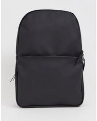 Rains 1284 Field Waterproof Backpack In Black