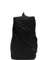 Pleats Please Issey Miyake Black Bias Pleats Backpack
