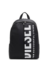 Diesel Black Bold Back Iii Backpack