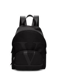 Valentino Black Garavani Vlogo Backpack