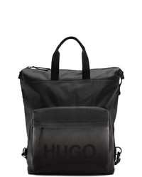 Hugo Black Gradient Tote Backpack