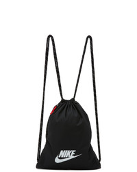 Nike Black Heritage 20 Gymsack Backpack