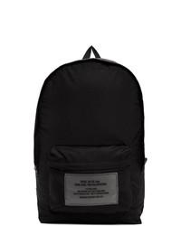 Diesel Black Packable Pakab Bapak Backpack