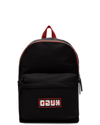 Hugo Black Record Backpack