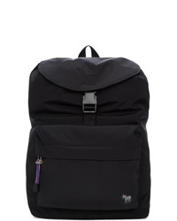 Ps By Paul Smith Black Zebra Backpack