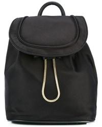 Diane von Furstenberg Drawstring Flap Closure Backpack