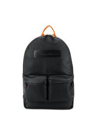 Santoni Embossed Logo Backpack