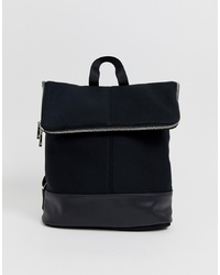 ASOS DESIGN Foldover Backpack