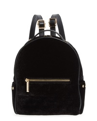 Mali + Lili Marlee Velvet Backpack