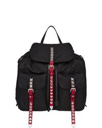 Prada Studded Multi Pockets Backpack