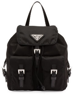25090d84c9fd Prada Vela Mini Crossbody Backpack Bag Black, $950 | Neiman Marcus ...
