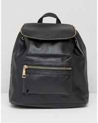 Boohoo Zip Detail Backpack