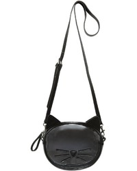 Karl Lagerfeld Cat Pvc Faux Leather Shoulder Bag