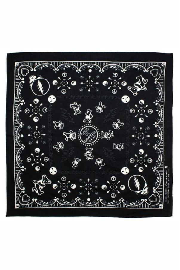 A Little Bit Hippy Grateful Dead Bandana