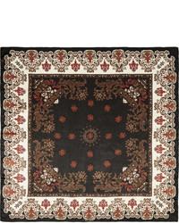 Givenchy Square Silk Charmeuse Scarf 140cm X 140cm Bandana