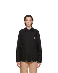 CARHARTT WORK IN PROGRESS Black Michigan Jacket