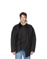 Y/Project Black Switch And Flip Hunting Jacket