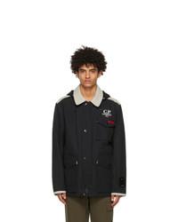 C.P. Company Black Ventile La Mille Jacket