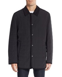 Saks Fifth Avenue Quilted Barn Jacket