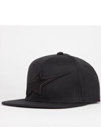 Alpinestars Linsdale Custom Snapback Hat Black One Size For 223560100