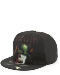Givenchy Army Skull Flat Bill Baseball Hat Black