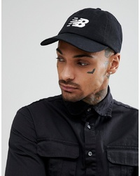 New Balance Baseball Cap In Black 500173 000