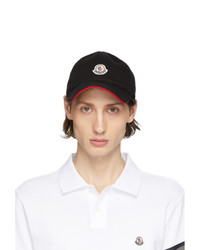 Moncler Black Baretto Baseball Cap