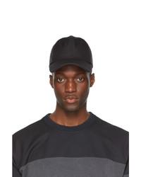 Juun.J Black Canvas Ball Cap
