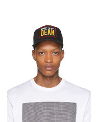 DSQUARED2 Black Dan Im Not Dean Baseball Cap