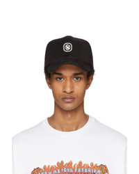 Neil Barrett Black Monogram Cap