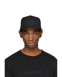 Yohji Yamamoto Black New Era Edition Baseball Cap
