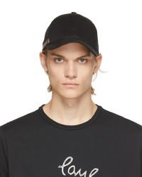 Paul Smith Black Signature Stripe Cap