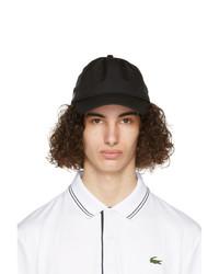 Lacoste Black Sport Lightweight Cap