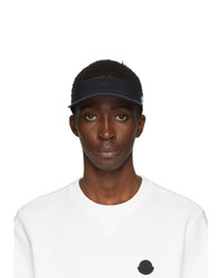 Moncler Black Tennis Cap