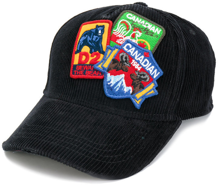 DSQUARED2 Dsquared2 patch baseball hat   Where to buy   how to wear 087db2b96601