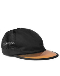 Gucci Embroidered Cotton Twill And Mesh Baseball Cap