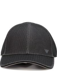 Emporio Armani Logo Mesh Baseball Cap