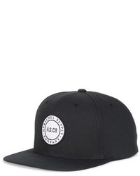 Herschel Supply Co Cam Snapback Baseball Cap Black