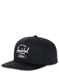 Herschel Supply Co Whaler Snapback Baseball Cap Grey