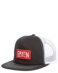 Langley trucker hat black medium 5168406